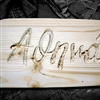 Carved Name Athena
