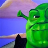 The face of Shrek