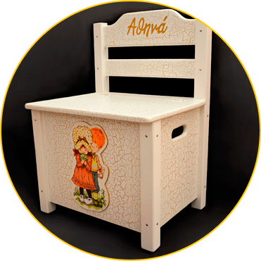 CHAIR-BOX FOR BAPTISM // little athena